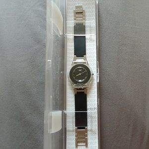 Pure Black Swatch Watch